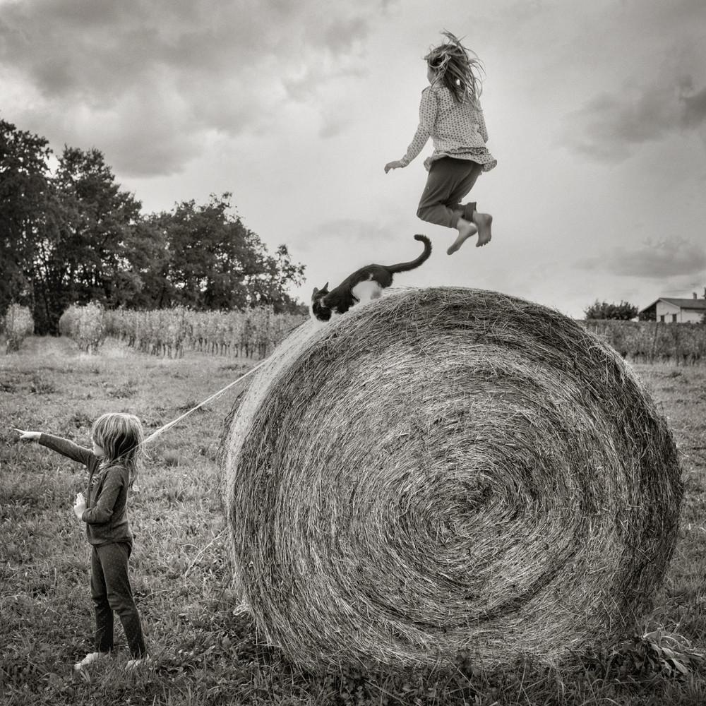 Deux enfants, l'été (Une reposante réflexion à partir d'une photo) Enfants