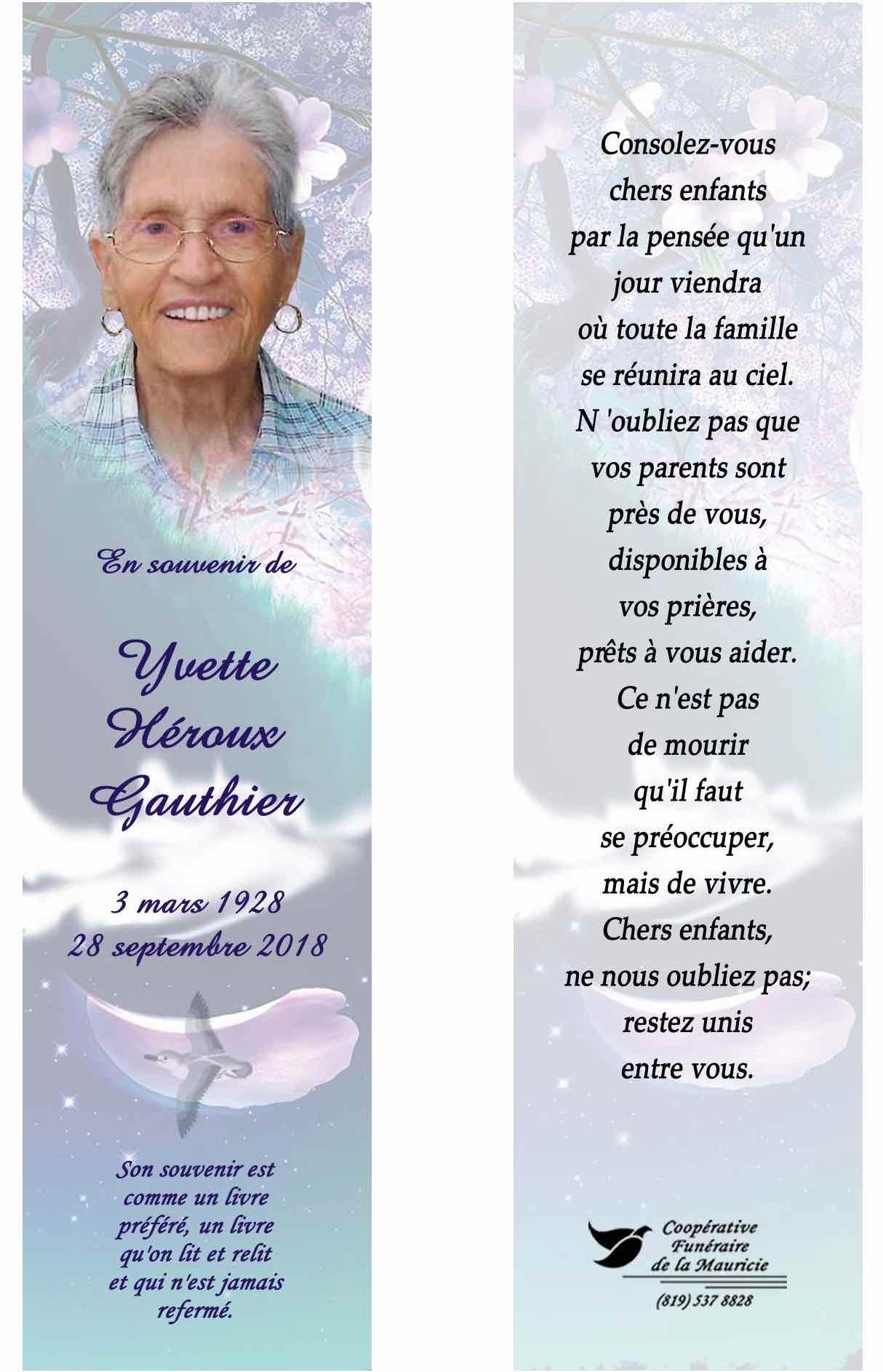 La Mort De Ma Mère Le Blogue De Jacques Gauthier